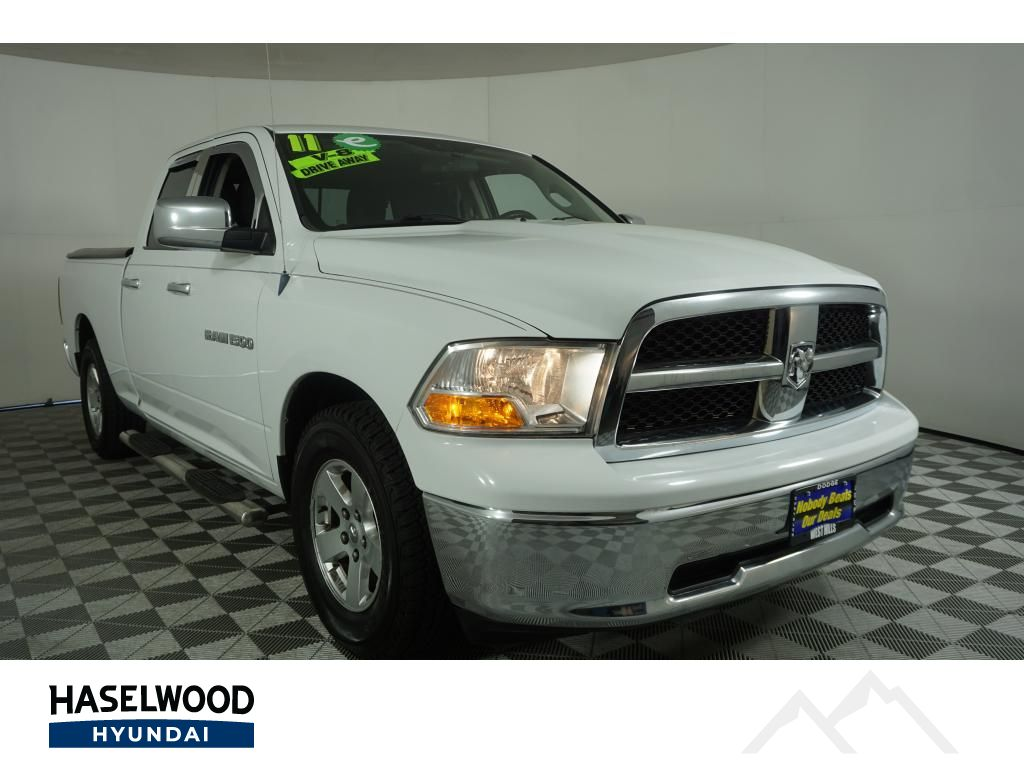 Pre-Owned 2011 Dodge Ram Pickup 1500 SLT