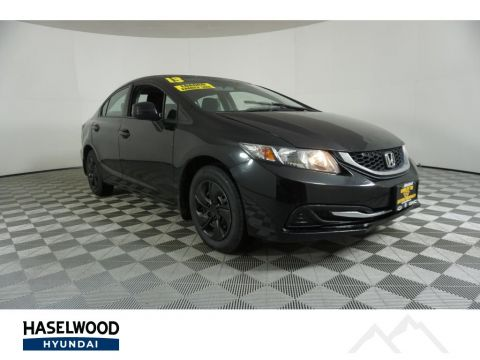 Pre-Owned 2013 Honda Civic LX FWD 4dr Car